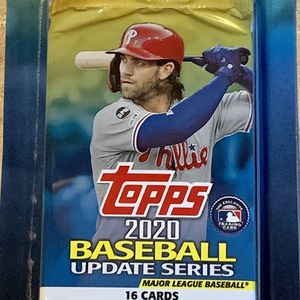 MLB 2020 Topps Baseball 2-16 Count Card Packs Exclusive Blue Parallel Card Inside New In Package for Sale in North Ridgeville, OH