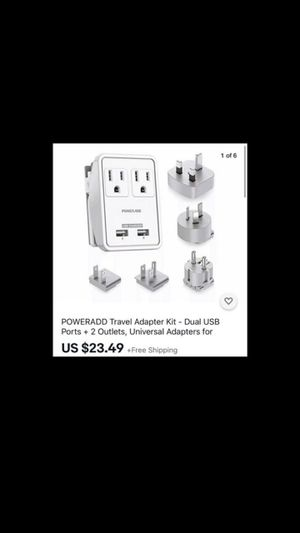 Travel adapter kit for Sale in Monrovia, CA