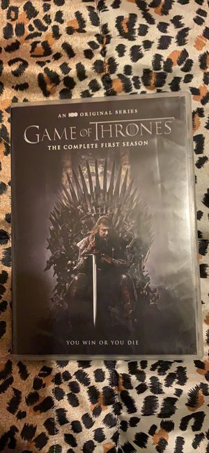 Game of Thrones complete first season for Sale in Avis, PA