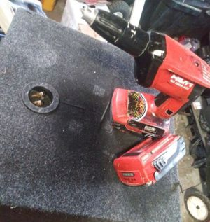 Hilti screw gun for drywall and 2 batteries (works great) for Sale in Hazel Crest, IL