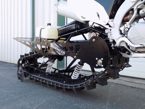 Timbersled 137 HT LT dirt bike snow track, snowmobile conversion kit for Sale in Mountlake Terrace, WA