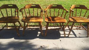 4)Antique chairs all 4for 60 for Sale in Fresno, CA
