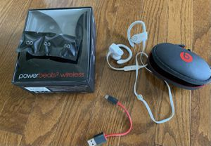 Power beats 2 wireless headphones for Sale in Bethel Park, PA