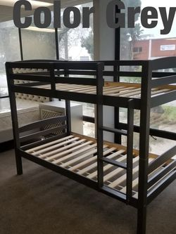 Twin bunk beds. 3 colors to choose from. Bunk beds come in a box. Assembly not included in price. Price includes tax and delivery. Cash only. Colo for Sale in Los Angeles,  CA