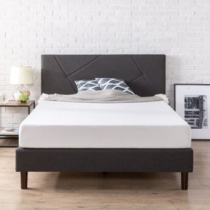 New Zinus Judy Upholstered Platform Bed Frame Queen size for Sale in Columbus, OH