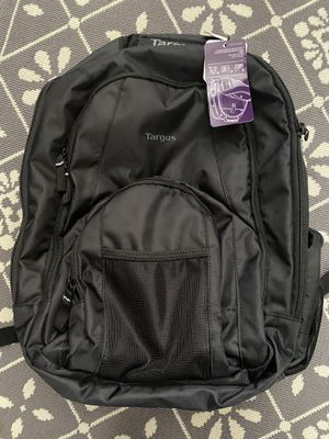 NEW Targus Groove Laptop Backpack. Dimensions on tag in picture, awesome backpack with plenty of storage and numerous pockets for Sale in Mason, OH