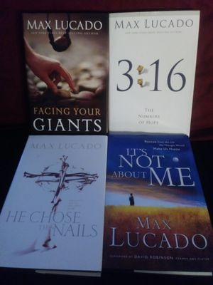 Max Lucado books (4) for Sale in Avon Park, FL
