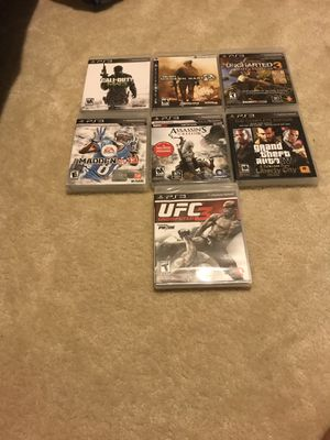 PS3 games for Sale in Gainesville, VA
