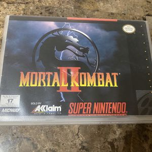 Mortal Kombat 2 - Super Nintendo Game w/ Box for Sale in Los Angeles, CA