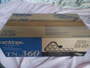 Brother TN-360 toner cartridge printer copier for Sale in Grapevine, TX