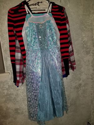 New never worn Sz 8 10 frozen elsa Halloween dress costume for Sale in Bedford, TX