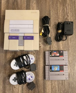 SNES / Super Nintendo for Sale in Everett, WA