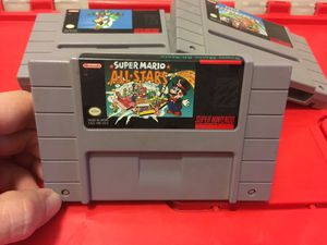 Super Mario All-Stars snes Nintendo game system classic 1 2 3 for Sale in Cleveland, OH