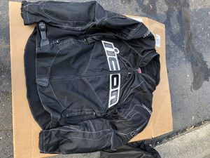 Icon motorcycle jacket size M for Sale in Westland, MI