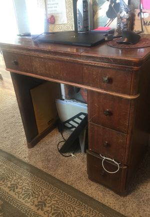 Antique sewing machine desk - 1930s great condition. for Sale in Denver, CO