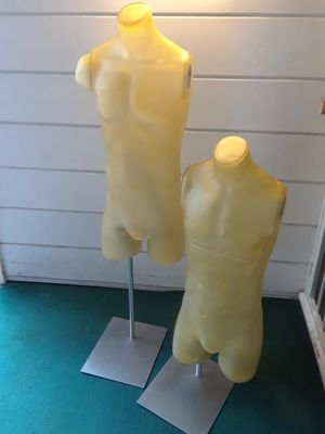 Rare Fusion specialities male torso display mannequins for Sale in Petaluma, CA