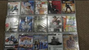Mixed Lot of 58 Video Games For PS3,XBOX 360, WII,DS for Sale in Frederick, MD