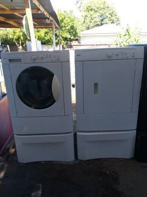 Kenmoore frontloads set both electric washer and dryer with warranty for Sale in Fresno, CA