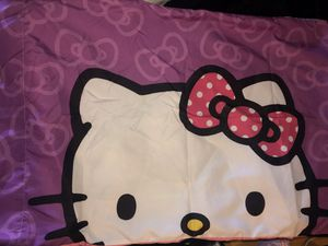 Hello Kitty Twin bedset for Sale in Bend, OR