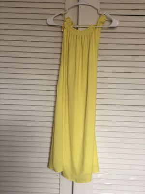 """Yellow dress/ Size """"M"""" for Sale in Hollywood, FL"""
