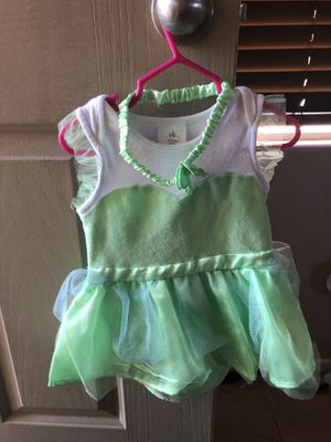 Like new disney store tinkerbell costume 18-24 months for Sale in Las Vegas, NV