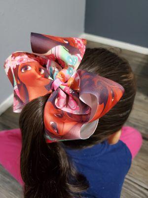 """MOANA HAIR BOW 7"""" for Sale in Arlington, TX"""