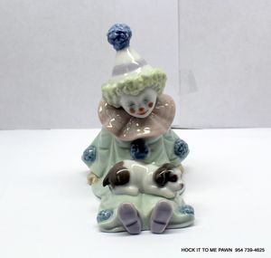 LLADRO Pierrot Clown With Puppy Dog Figurine Retired #5277 for Sale in Lauderdale Lakes, FL
