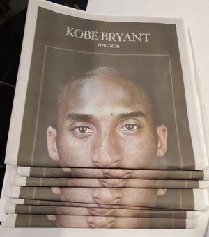 Kobe Bryant 💛💜 LA Times 💔 Tue 2.28.20 for Sale in Santa Ana, CA