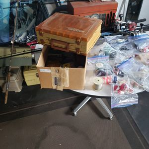 Lots of fishing gear lures weights hooks etc for Sale in East Wenatchee, WA