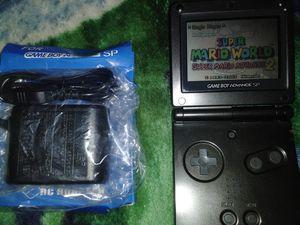 Gameboy Advance SP w/ Super Mario World for Sale in Pomona, CA