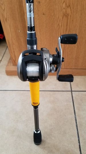 Abu garcia bass fishing rod combo. for Sale in La Habra Heights, CA
