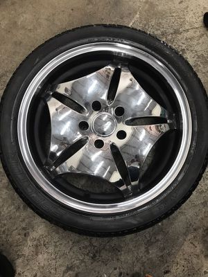 "(4) 18"" chrome rims $200 for Sale in Manassas, VA"