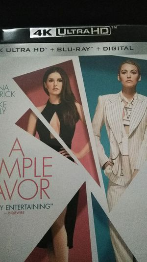 A Simple Favor 4K Digital Code for Sale in Fall River, MA