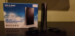 TP-Link AC1750 Archer CR700 Wifi Router for Sale in Blue Springs, MO