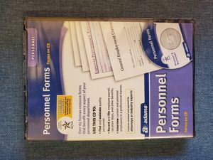 Adams Business/Personnel Forms, 2 CD Set for Sale in Gilbert, AZ