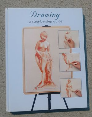Like new, 256 pages of step-by-step guide to drawing and shading in for Sale in Fresno, CA