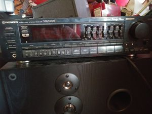 Pioneer receiver klh speakers for Sale in Romulus, MI