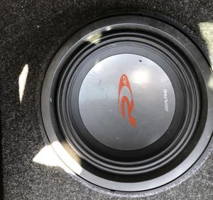 Alpine Type R and Polk Audio amp for Sale in Flower Mound, TX
