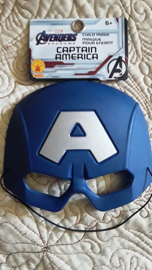 AVENGERS CAPTAIN AMERICA MASK $5 EACH ✔✔✔PRICE IS FIRM✔✔✔ for Sale in Bell Gardens, CA