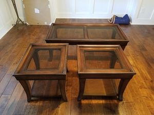 Coffee and end tables for Sale in Clayton, NC