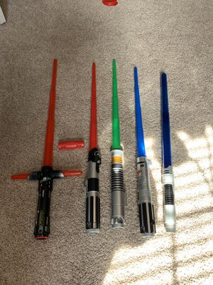 Star Wars Light Sabers for Sale in Spring Hill, TN