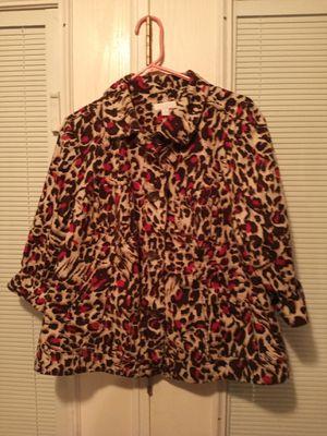 Leopard ladies suit coat for Sale in San Antonio, TX