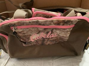Cabela's Camo Mini Duffle Bag for Sale in Parma, OH