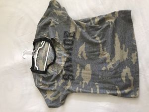 Camo Savage shirt with collar for Sale in Los Angeles, CA