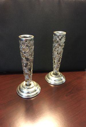 Sterling Silver candleholders for Sale in Spring Valley, CA