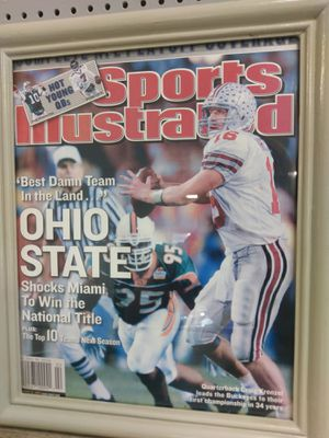 Sports Illustrated Ohio State issue for Sale in Lakeview, OH