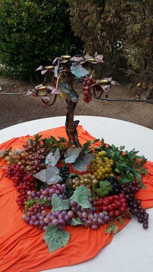Grape decor for Sale in Lemon Grove, CA