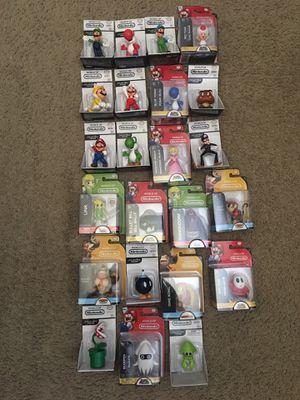 23 World of Nintendo Figures 2.5 Inch Lot (Nintendo, Super Nintendo, Wii U, GameCube) for Sale in Arlington, TX
