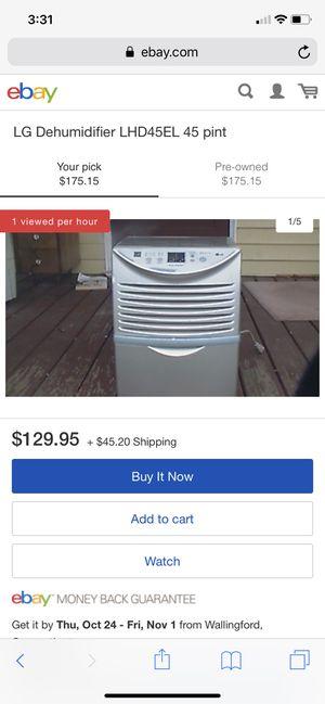 LG dehumidifier for Sale in Oakley, CA