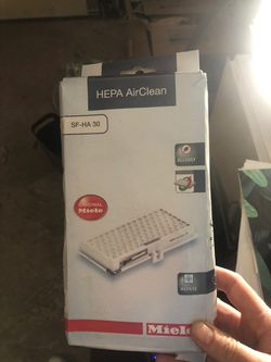 Miele SF-HA 30 HEPA filter for Sale in Seattle,  WA